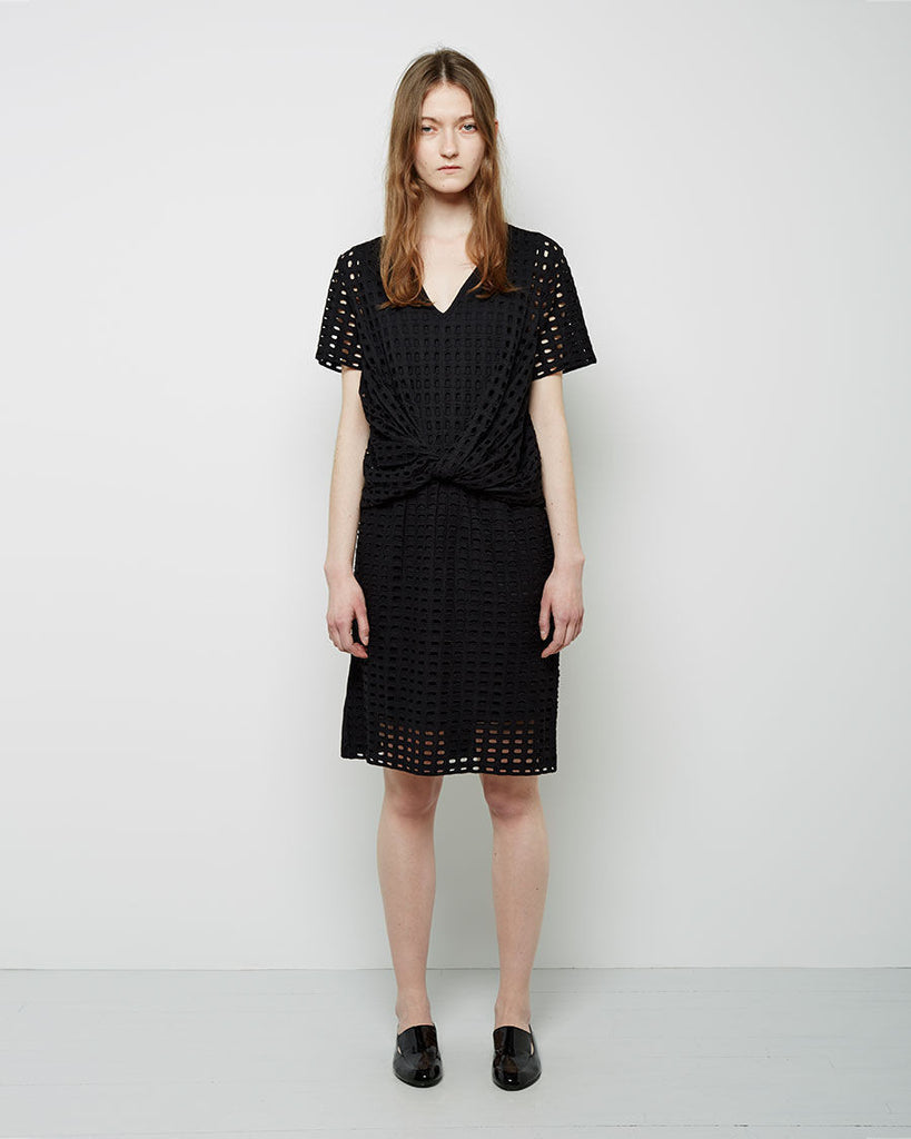 Lattice Knotted Dress