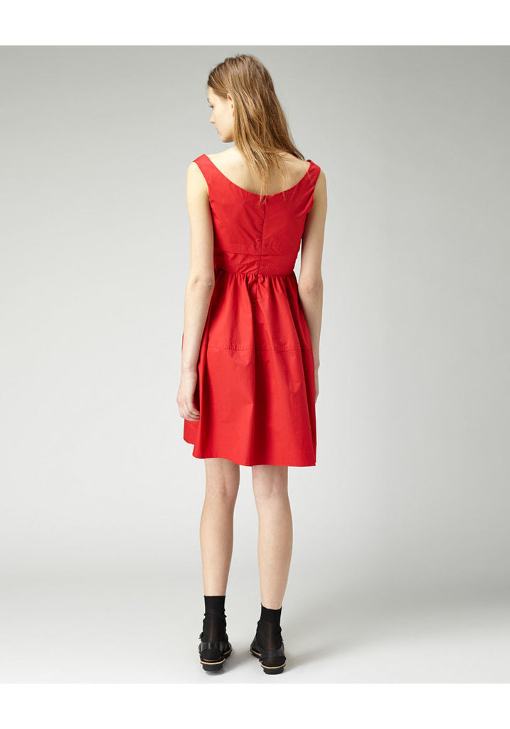 Poplin Sleeveless Dress