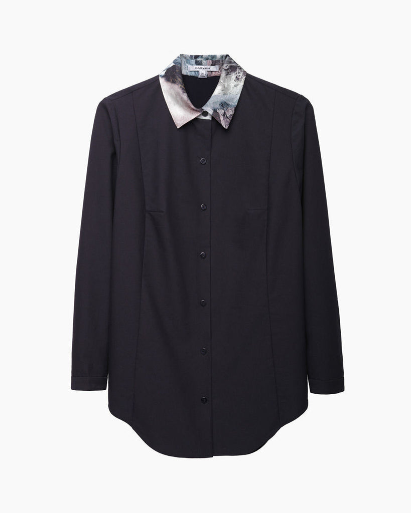 Seascape Collar Shirt
