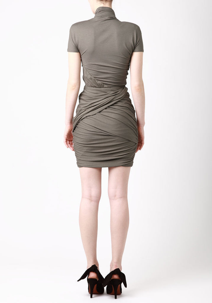 Wrapped Jersey Dress