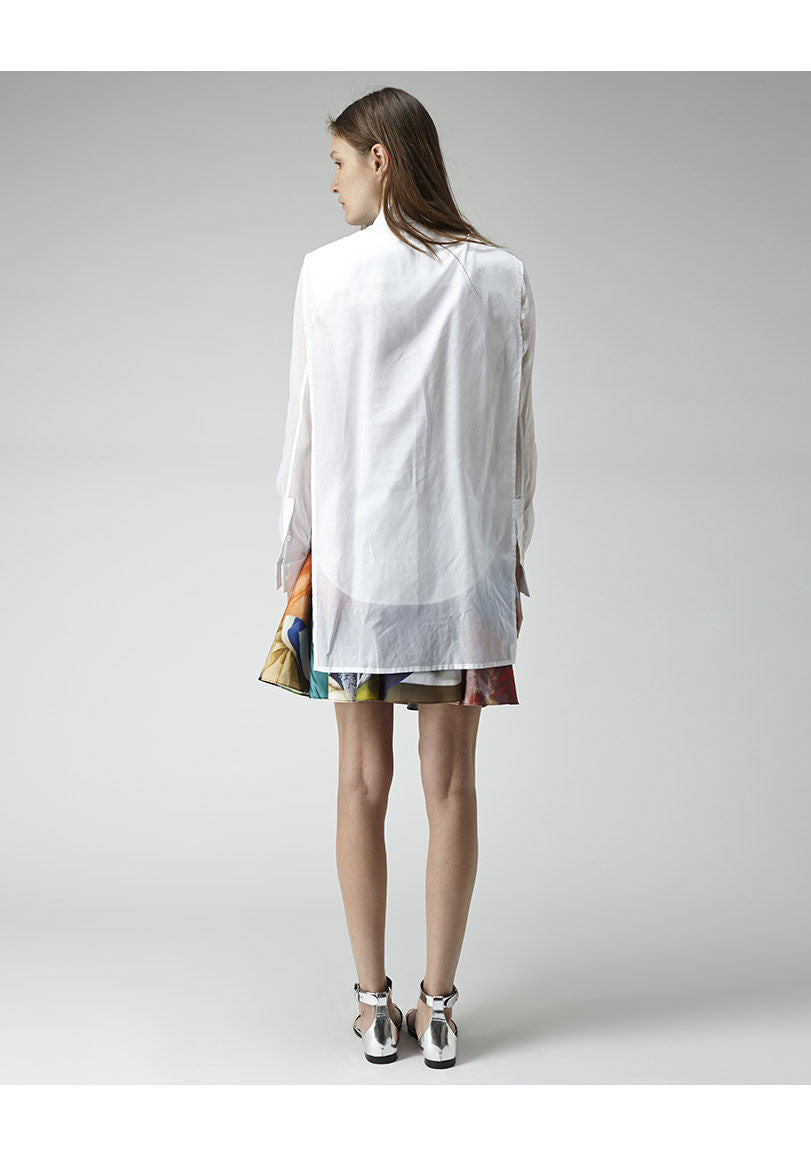 Layered Cape Shirt