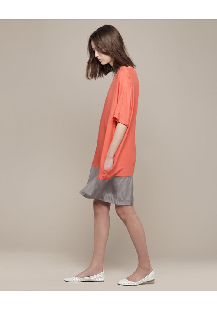 Charmeuse T-Shirt Dress