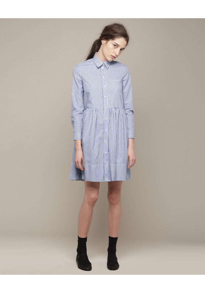 Colombine Striped Shirtdress