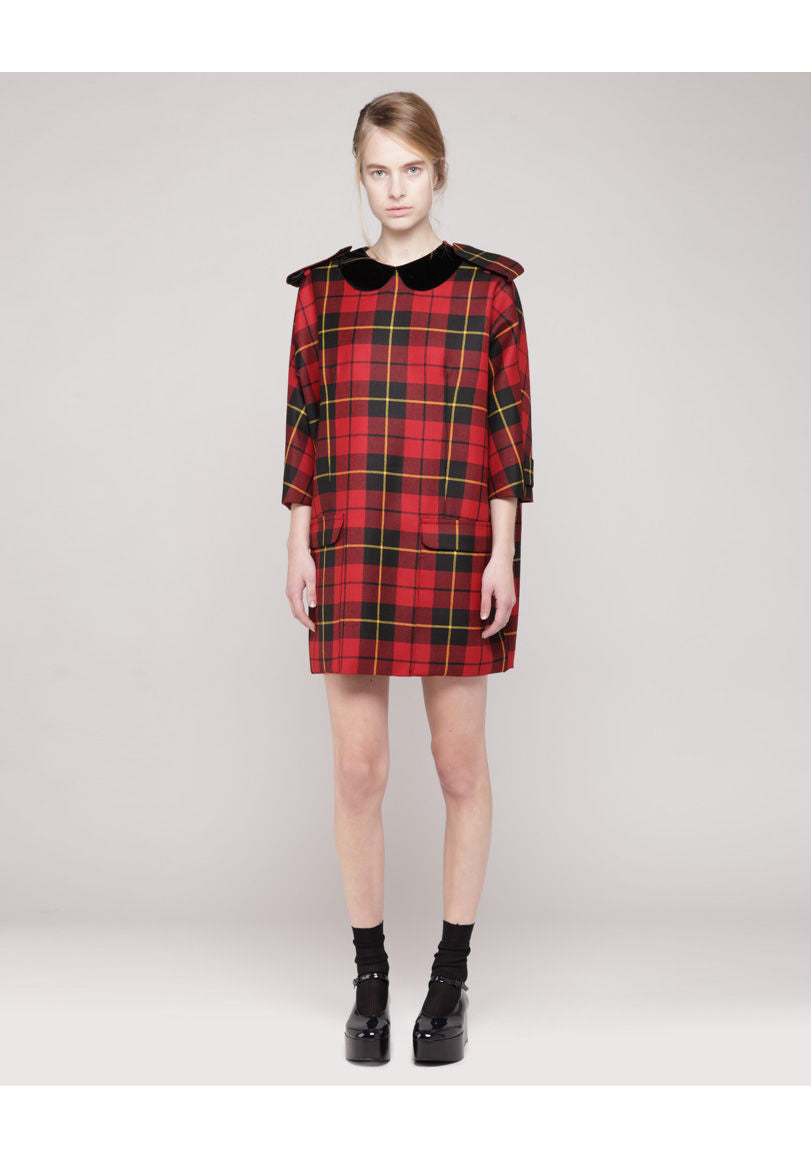Patricia Tartan Dress