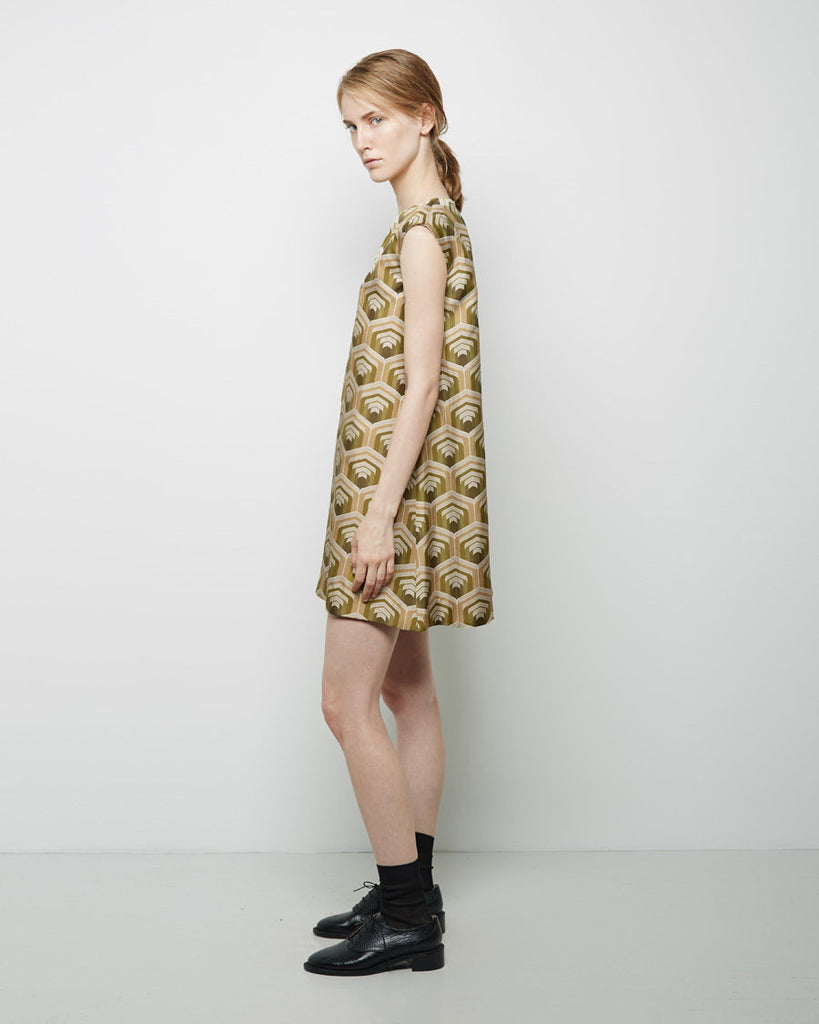 Stendhal Printed Silk Dress