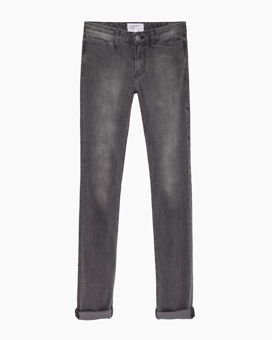 The Mid-Rise Slim Straight Jean