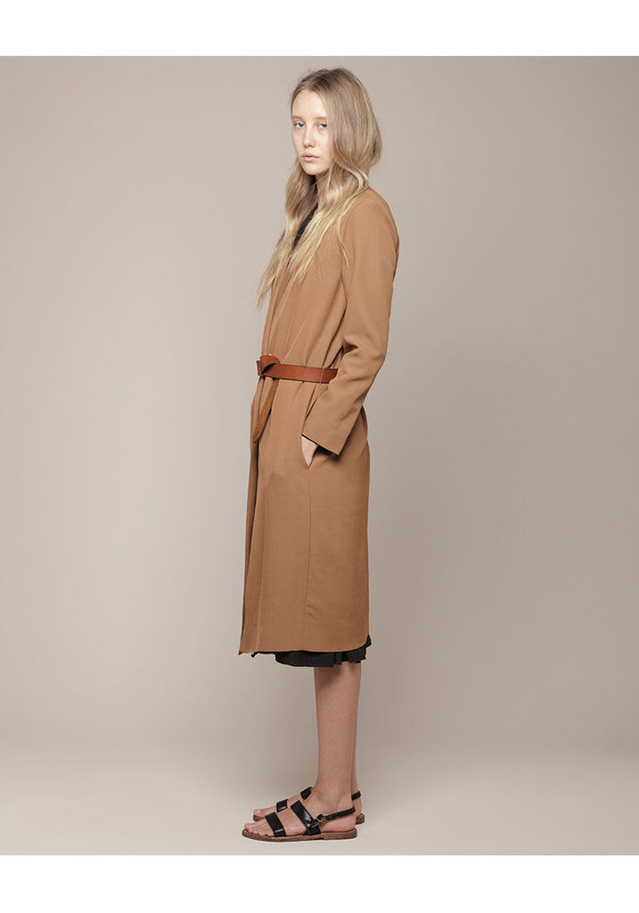 Open Coat w/Belt
