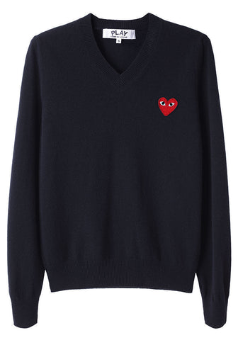 Men's Red Emblem Sweater