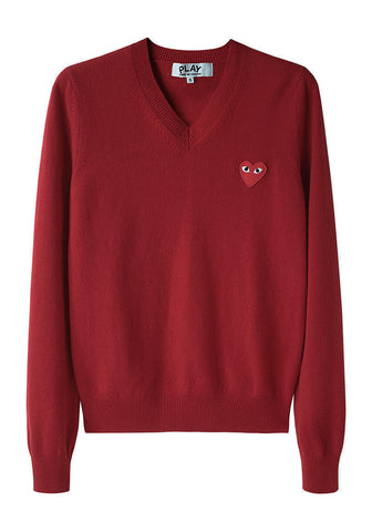 Red Emblem Sweater