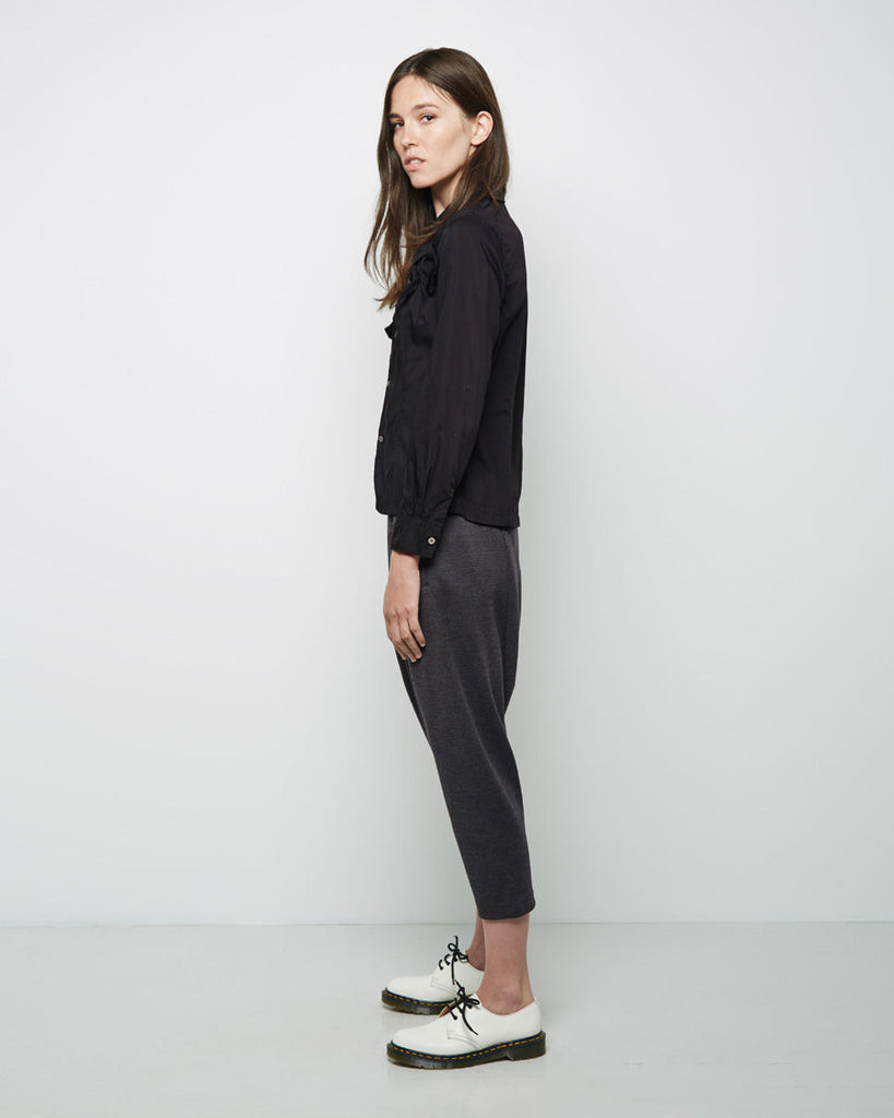 Cropped Drop Crotch Pant