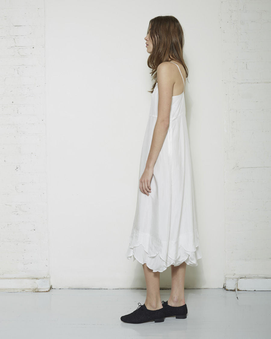 Long Silk Slip Dress