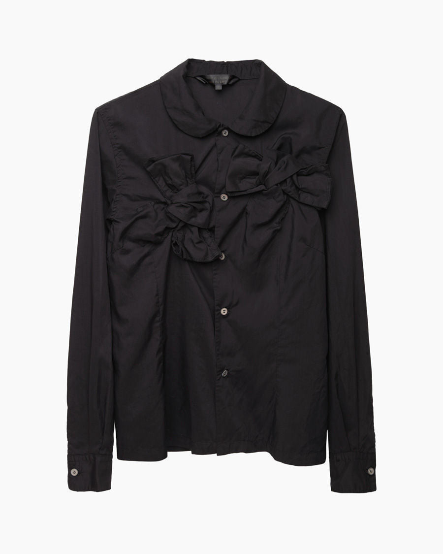 Longsleeve Knotted Bow Shirt