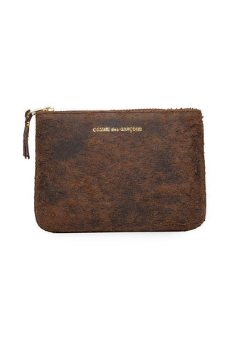 Distressed Zip Pouch