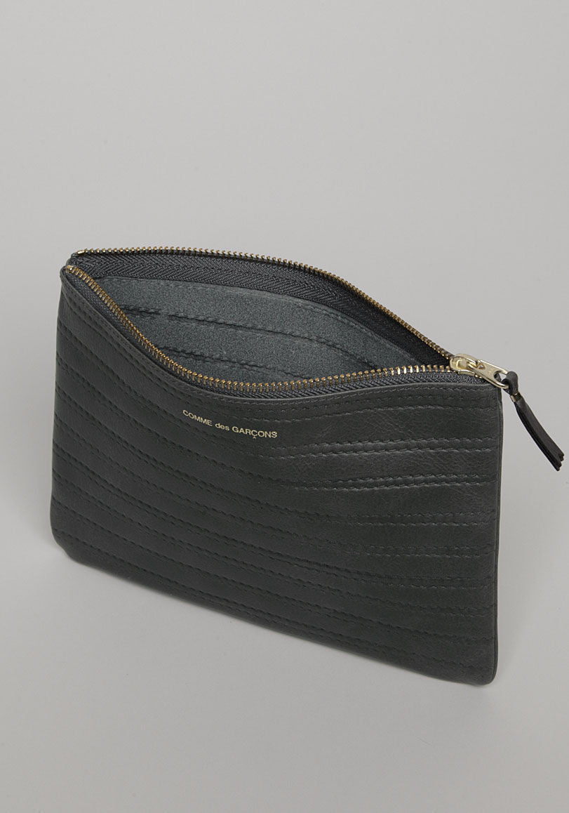 Embossed Zip Pouch