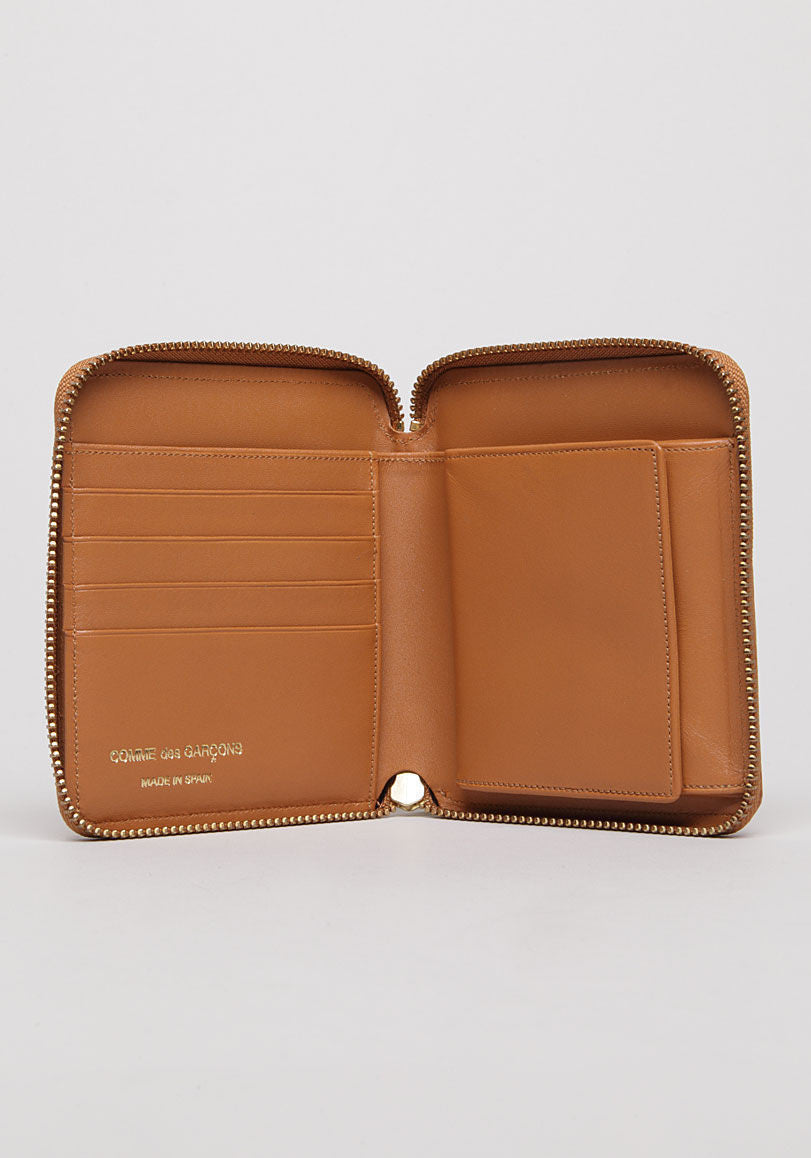 Luxury Square Zip Wallet