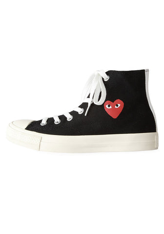 High-Top Canvas Sneaker