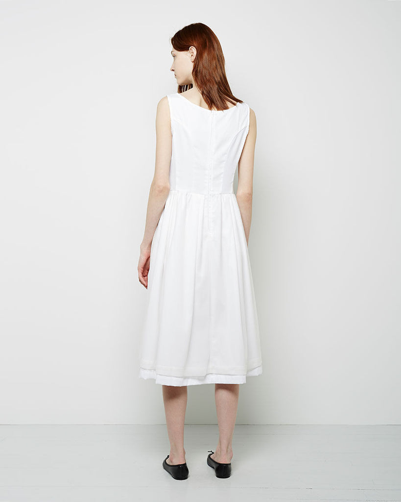 Cotton Batiste Apron Dress