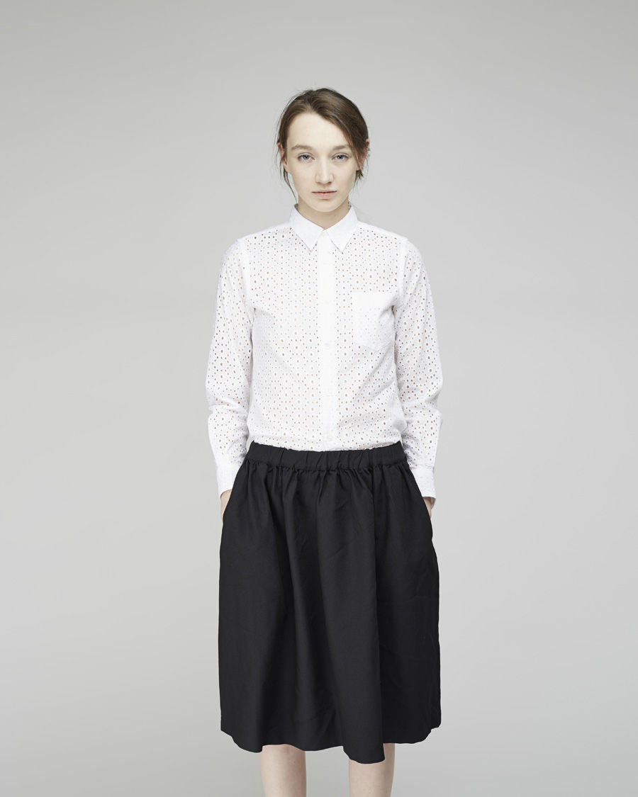 Poly Twill Skirt