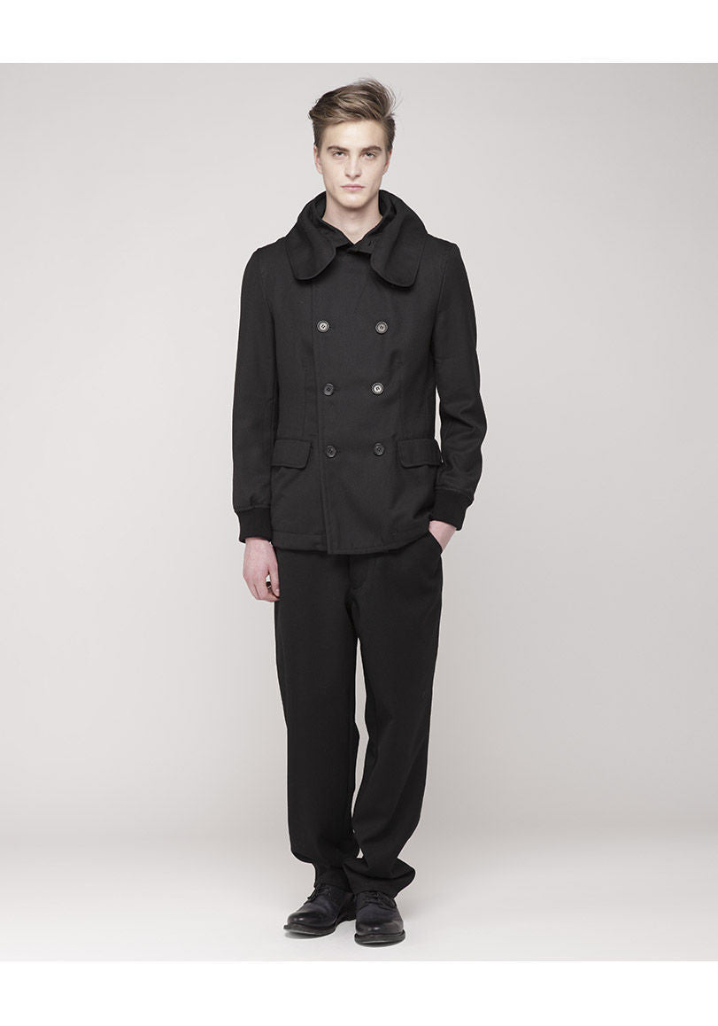 Hooded Peacoat