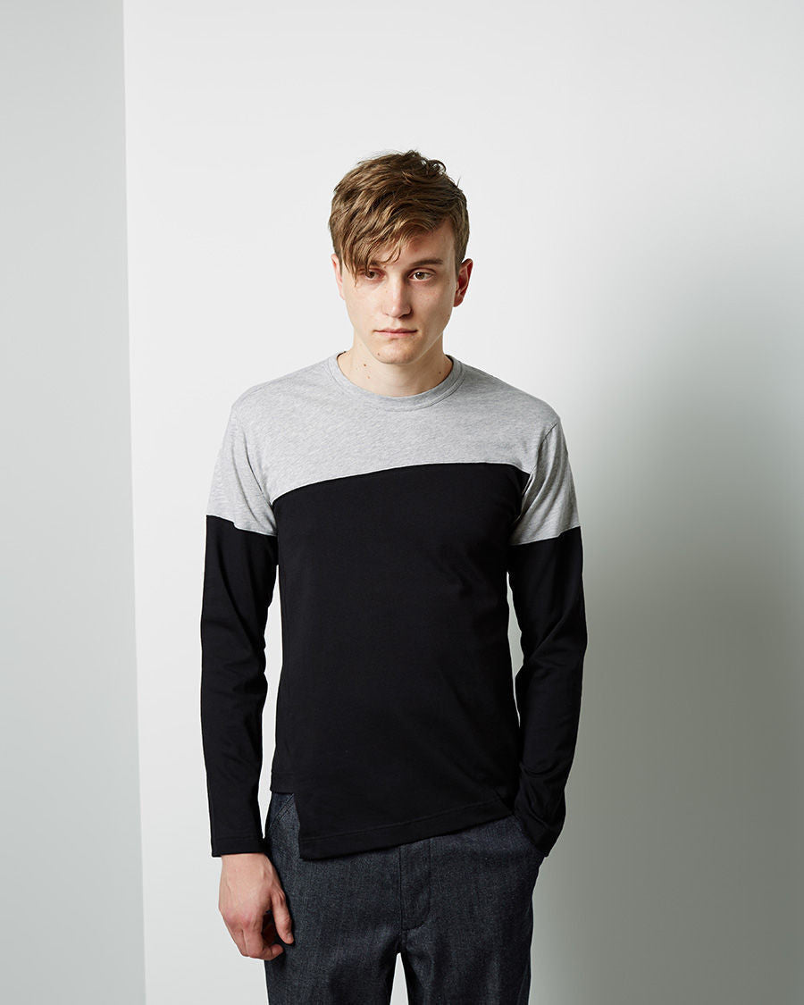 Colorblocked Longsleeve T-Shirt