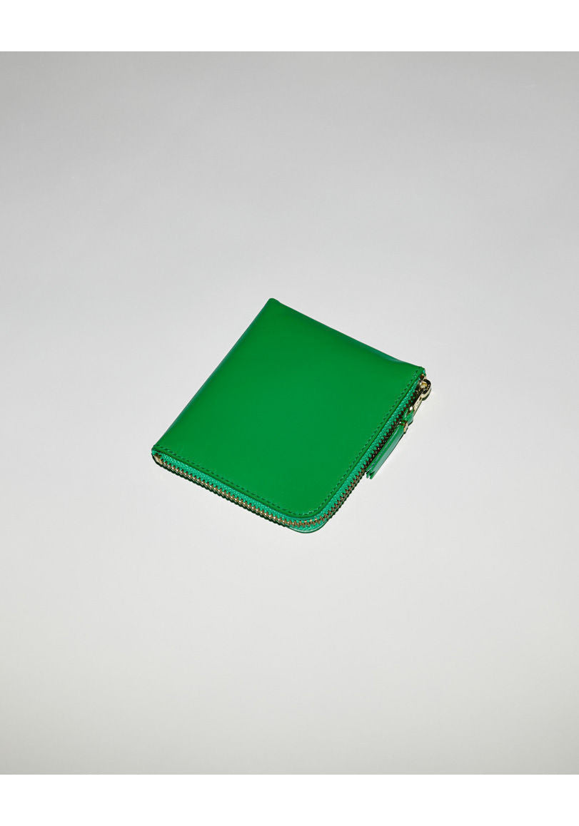 Square Side Zip Wallet