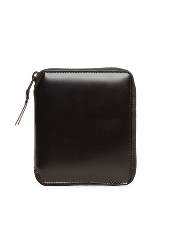 Very Black Zip Wallet