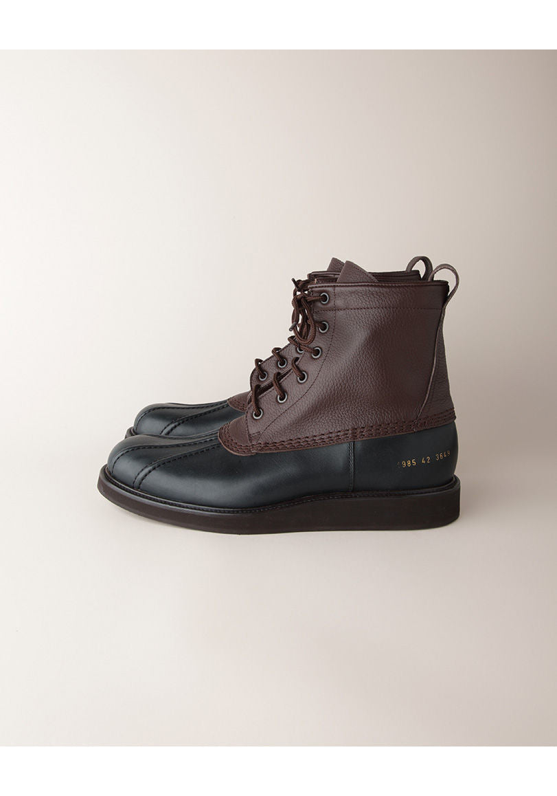Leather Duck Boot