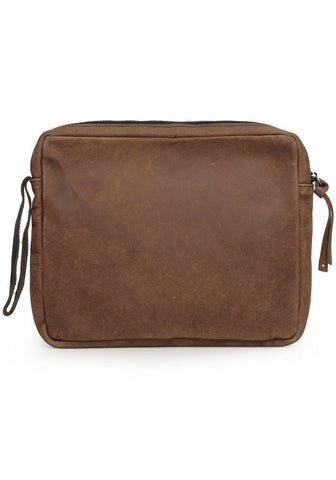 iPad Leather Zip Case
