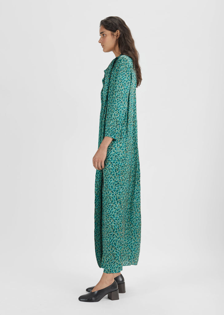 Doree Mosaic Print Dress