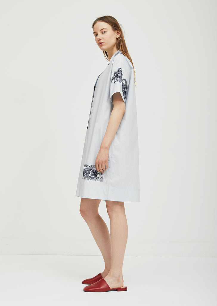 Jusso Pop Embroidered Dress