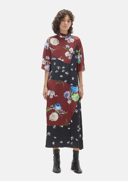 Dilona Flower Print Dress