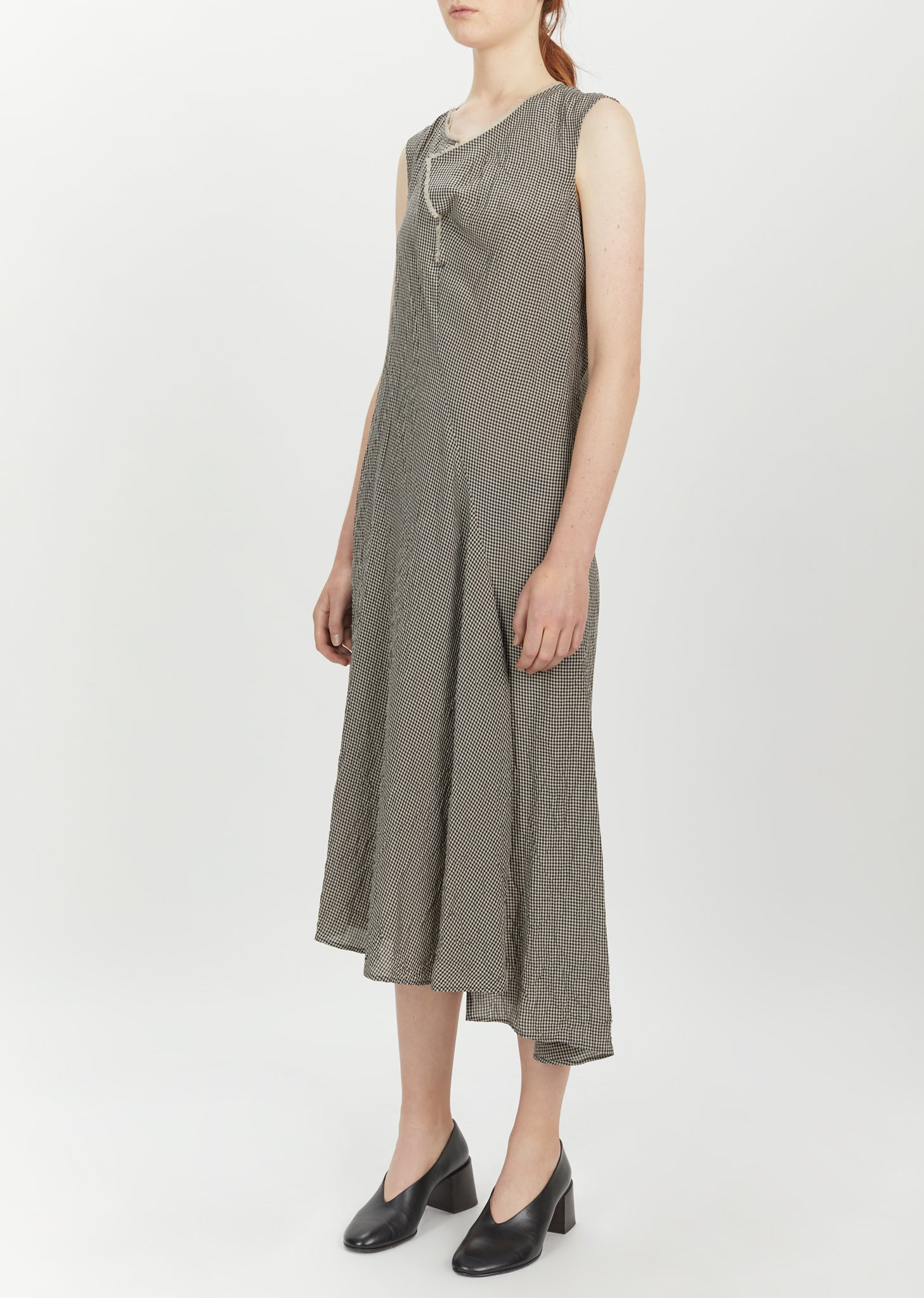 213be2cde434 Deala Check Dress by Acne Studios- La Garçonne