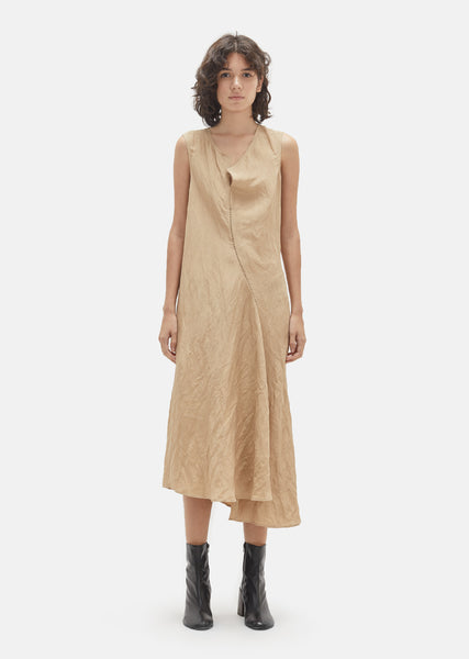 Deala Slub Linen Dress