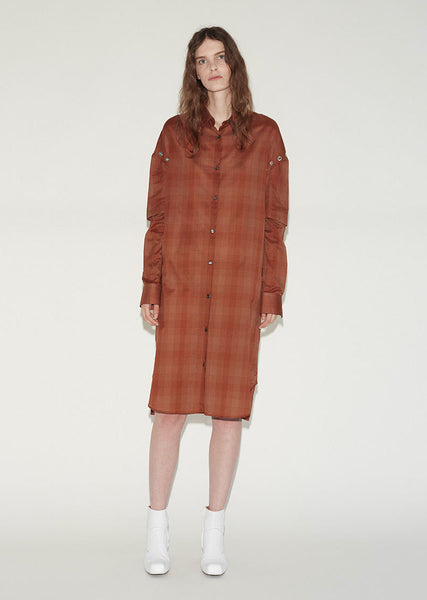 Aalto Eyelet Shirt Dress La Garconne