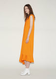 Flared Hem Fluid Dress