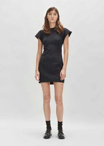 Hybrid Sweatshirt Tank Mini Dress
