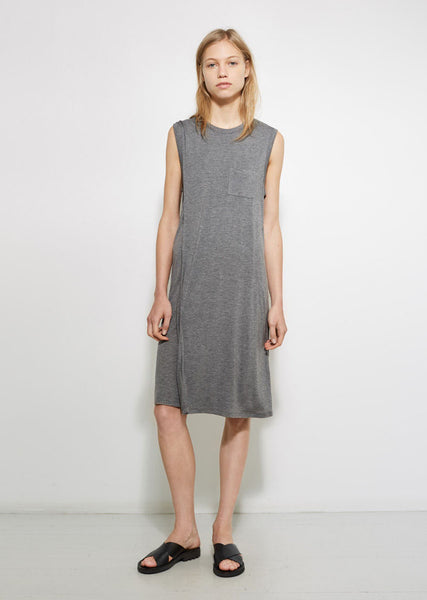 T by Alexander Wang Layered Pocket Tee Dress La Garconne