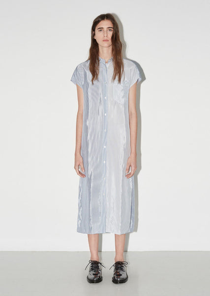 T by Alexander Wang Washed Stripe Shirt Dress La Garconne