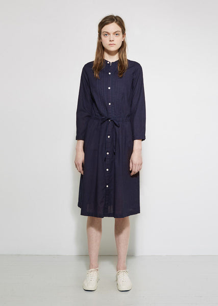 BLUE BLUE JAPAN Tuck Shirt Dress La Garconne