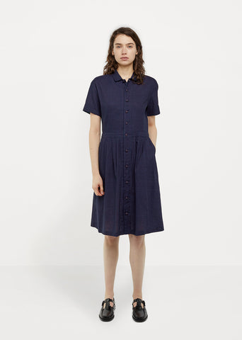 Gauze Shirtdress