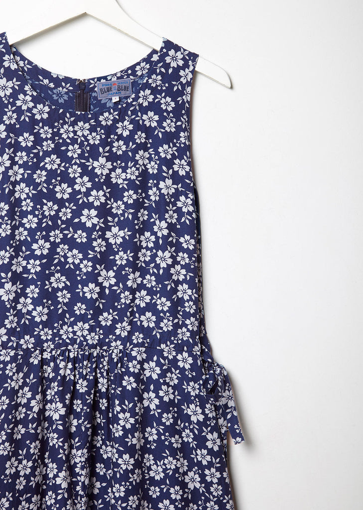 Sakura Printed Bias Dress