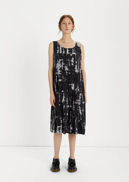 Brush Stroke Shift Dress