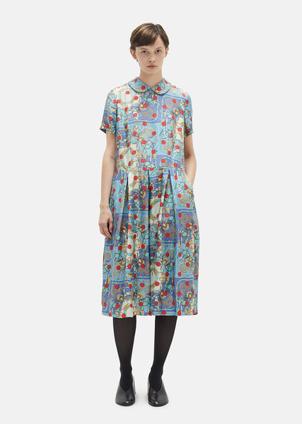 20 Momme Printed Silk Dress