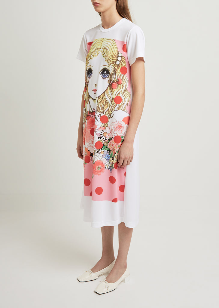 Inkjet Print J3 Pattern Dress