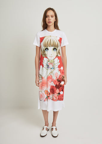 Jersey Inkjet Print L3 Pattern Dress