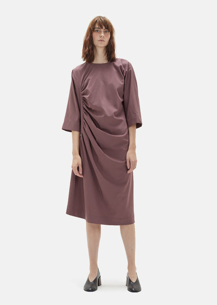 Wool Gathered Dress
