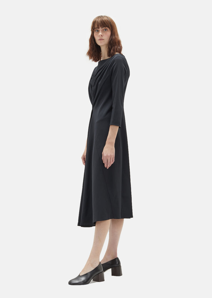 Wool Draped Dress