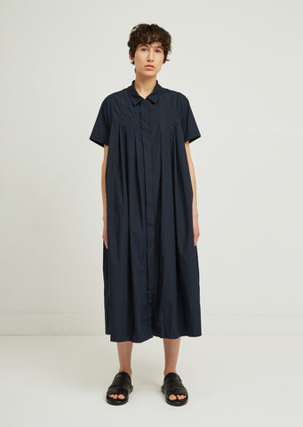 Robe Charlotte Pleated Shirt Dress