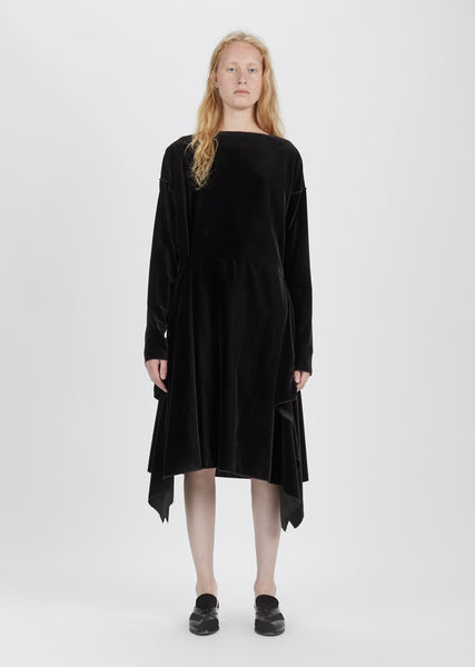Velvet Long Sleeve Dress