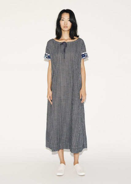 Dosa Embroidered Nimes Dress La Garconne